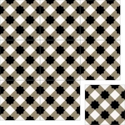 Цементная плитка Luxemix. Арт.: est_13c3