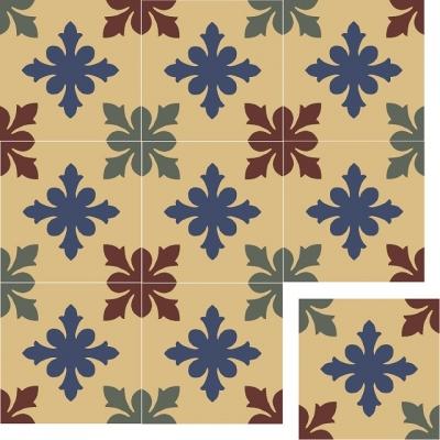 Цементная плитка ручной работы Luxemix. Коллекция Vintage. Арт.: vin_22