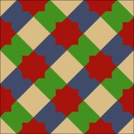 Цементная плитка Luxemix.  Арт.: est_13c2