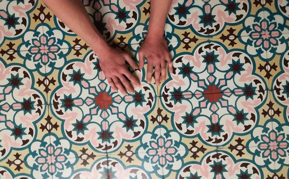 Цементная плитка Luxemix ручной работы артикула est_03